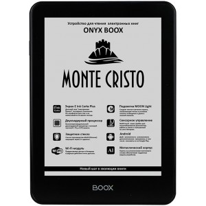 Электронная книга ONYX BOOX Monte Cristo 3 + чехол