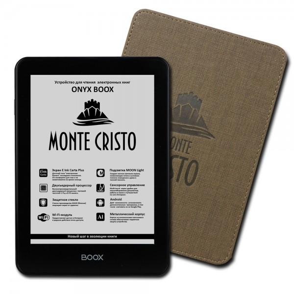 Электронная книга ONYX BOOX Monte Cristo 2 + чехол