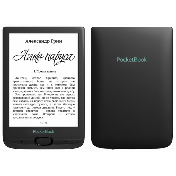 Электронная книга PocketBook 606 (Black)