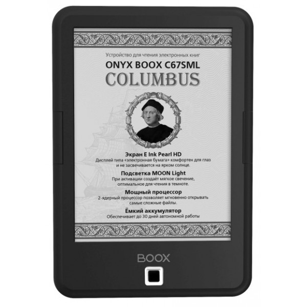 Электронная книга ONYX BOOX C67SML Columbus