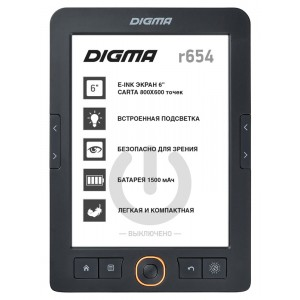Электронная книга Digma E654