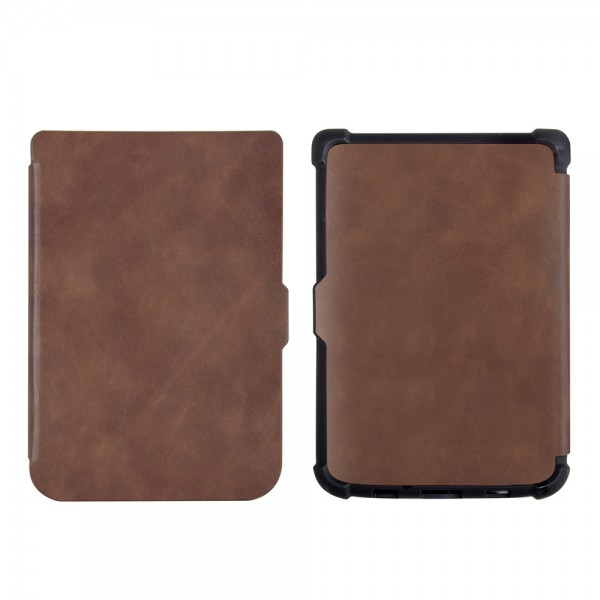 Чехол PocketBook 606/616/627/628/632/633  Коричневый