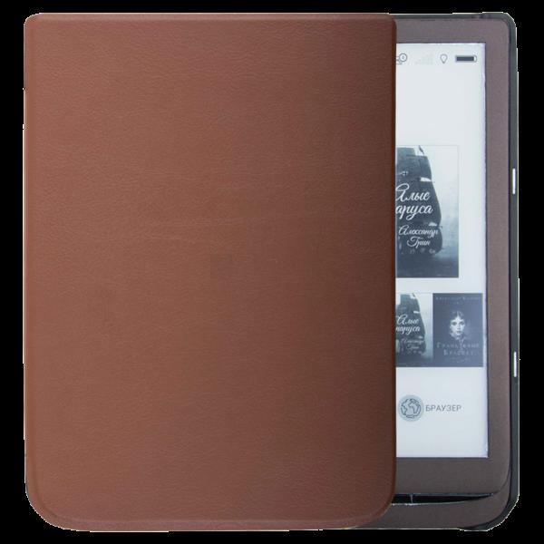 Чехол PocketBook 740 коричневая
