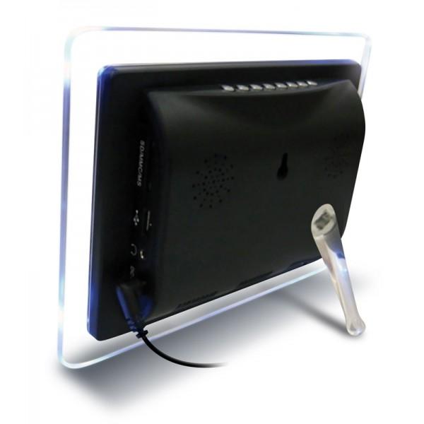 Цифровая фоторамка Digma PF-790 Purple