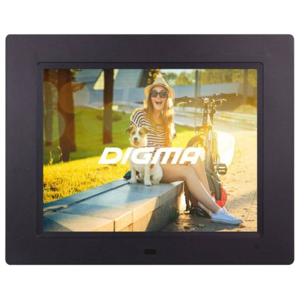 Цифровая фоторамка Digma PF-833